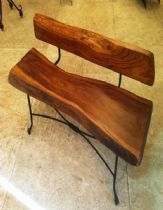 Benches and footstools