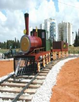 The Steam train,Performance Art,  urban sculpture