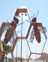 The Bee sculpture at Ness-ziona