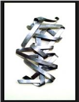 Wall picture element, aluminum work