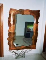 A patched copper mirror
